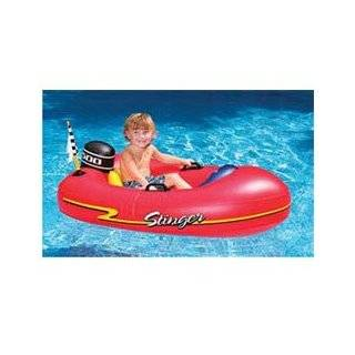Kids Swimming Pool Inflatable Floating Boat Toys & Games