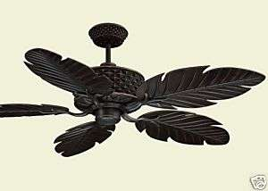 NEW 52 Tropical Style In / Outdoor Ceiling fan