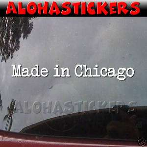 MADE IN LOS ANGELES California Car Decal Sticker MI236