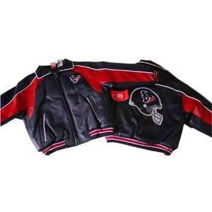 NFL Houston Texans Kids Pleather Jacket
