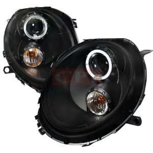 Mini Cooper Black Housing Projector Headlights Automotive