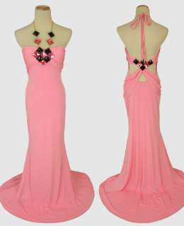 JOVANI BEYOND Pink $400 Formal Prom Cruise Ball Evening Gown NWT (Size