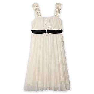 Pleated Ivory Dress  Amys Closet Clothing Girls Dresses & Skirts