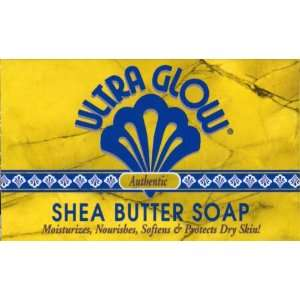Ultra Glow Dry Skin Treatment Shea Butter Soap 99.2g