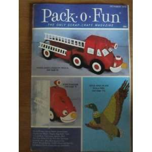 Pack o Fun Scrap Craft Magazine October 1973 Everything