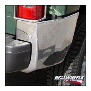 Rear Bumper Corner Overlays   Chrome Plated, for the 2007 Hummer H3