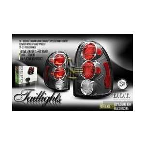 Chrysler Town Country Tail Lights Black Altezza Taillights