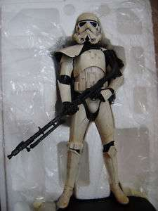 ATTAKUS STAR WARS SANDTROOPER SERGEANT STATUE EXCLUSIVE NEW w/Damaged