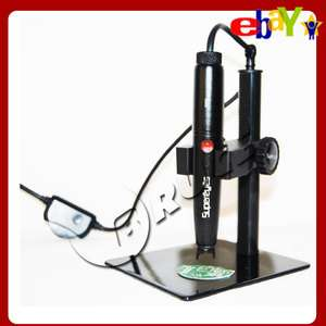 Mini USB LED Digital 500X Microscope Endoscope Pen B008 + Adjustable