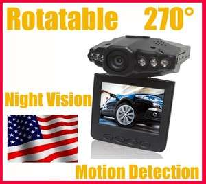 Car Dash Dashboard Camera Cam Accident Recorder DVR SD