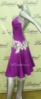 LATIN SALSA (BALLROOM) COMPETITION DRESS SIZE M(VL116B)