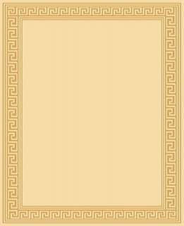 MODERN CONTEMPORARY GREEK AREA RUG 2 COLORS