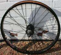 Stolen Roulette BMX Rear Wheel 8t Gloss Black 22t+Chain