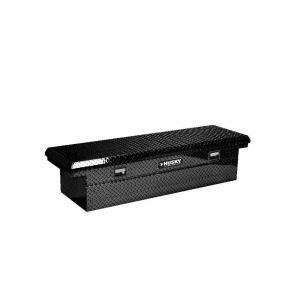 Husky 71 in. Full Size Black Low Profile Truck Box