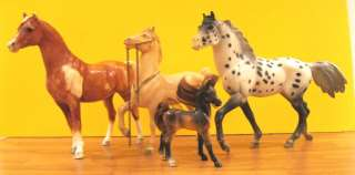 BREYER lot 8 MODEL HORSES UNICORN traditional size great lot remakes