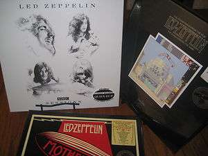 LED ZEPPELIN BBC SESSIONS   MOTHERSHIP & SONG REMAIN THE SAME 3 BOX