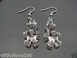 H4075 New Fashion Jewelry Korean Style    Young & Cute BEAR Earrings