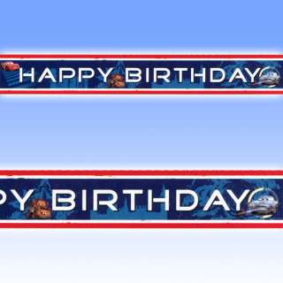 5m Disney CARS 2 Party HAPPY BIRTHDAY Foil Banner