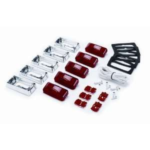 KC HiLites #1030 LED Lamp Light   Clearance GM Dual Tailgate Kit Red w