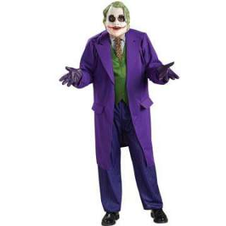 Batman Dark Knight The Joker Deluxe Adult Costume   Batman Costumes
