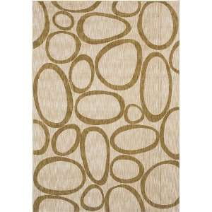 Shaw Angela Adams Beige Lulu 05100 Rug, 52 by 79
