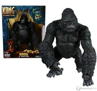 King Kong Deluxe 15 Movie Figure Angry Head
