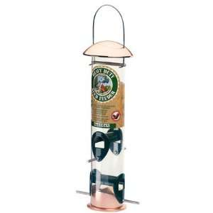/38 Heavy Duty Seed Bird Feeder in Copper Patio, Lawn & Garden