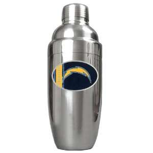 Diego Chargers NFL Stainless Steel Cocktail Shaker