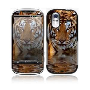 HTC Amaze 4G Decal Skin Sticker   Fearless Tiger