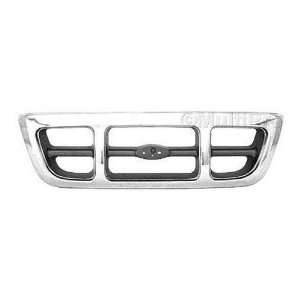 FORD TRUCK RANGER Grille assy 4WD; XLT; bright 1998 1999