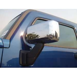 Putco Chrome Door Mirror Covers, for the 2007 Hummer H3 Automotive