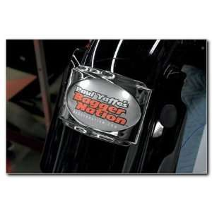 SLP3 Stealth 3 License Chrome Frame For Harley Davidson Touring Models