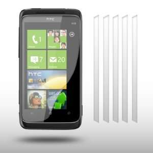 HTC TROPHY 6 IN 1 PACK CRYSTAL CLEAR LCD SCREEN PROTECTOR