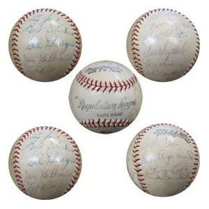 1961 Los Angeles Dodgers Team Signed Baseball  Sports