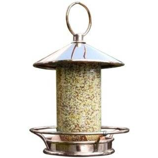 Good Directions 112P Classic Perch Bird Feeder, Polished Copper