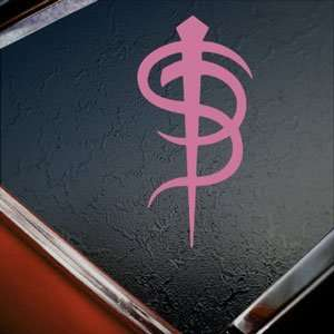 Skinny Puppy Pink Decal Band Car Truck Window Pink Sticker