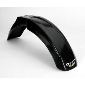 UFO Plastics Front Fender   Black Automotive