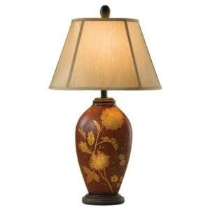 Hand Painted Porcelain Collection Table Lamp 29.5 H Murray Feiss