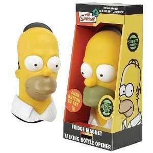 Simpsons Homer Talking Bottle Opener Fridge Magnet  Toys & Games