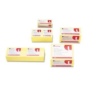 Universal Standard Self Stick Yellow Color Note Pads