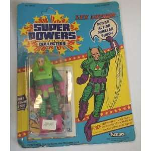 Dc Comics Super Powers Lex Luthor Vintage Figure Toys & Games