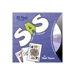 SAS VISUAL W/ DVD  JB  Card Close Up Street Magic Toys & Games