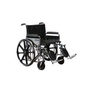 Drive Medical Sentra Heavy Duty Wheelchair   24 Wide x 18