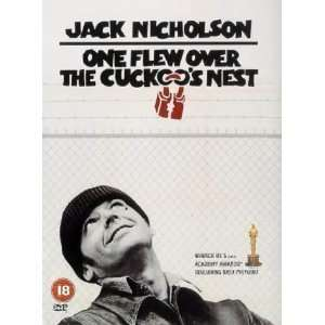 One Flew Over The Cuckoos Nest [1975] [Region 2 UK DVD] Starring Jack
