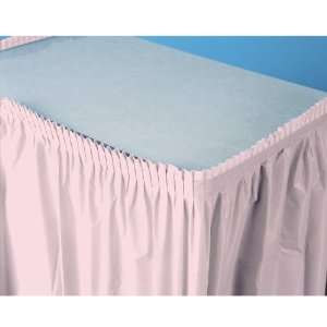 By Creative Converting Classic Pink (Light Pink) Plastic Table Skirt