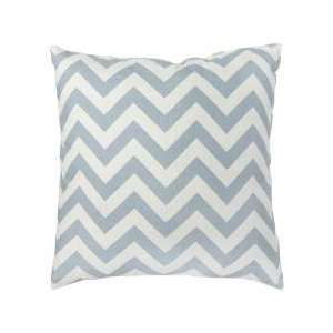 Greendale Home Fashions Zig Zag Toss Pillows, Village Blue, Set of 2