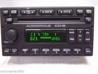 Ford Escape Radio CD Player Grand Marquis Audiophile