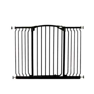 Dream Baby Tall Hallway Gate with Extensions   Black product details