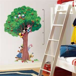 Mickey Mouse Growth Chart Wall Decal Sticker Appliqué