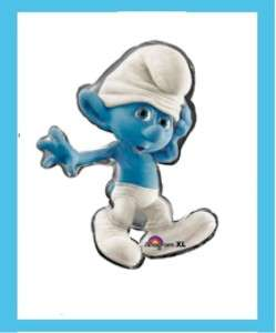 SMURFS PARTY BALLOON BIRTHDAY supplies decoration boy